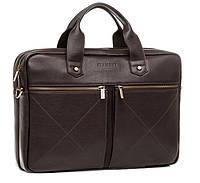 Blamont деловая сумка для мужчин в коричневом цвете с отделом для ноутбука (Bn012C)