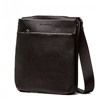 Кожаная мужская сумка планшетка в классическом стиле из натуральной кожи Blamont (Bn096A)
