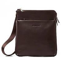 Мужская сумка планшет Blamont в коричневом цвете Bn096C