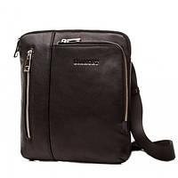 Мессенджер или сумка планшет для мужчин в классическом черном цвете Blamont (Bn099A)