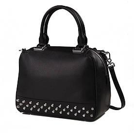 Женская кожаная сумка Karfei с металическими заклепками (1710074-04A)