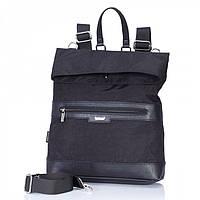 Сумка-рюкзак Dolly 367 трансформер две ручки городской формат А4 два отдела 32см х 37см х 12см