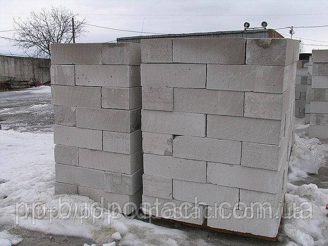 Зимове зберігання газоблоків, переваги і варіанти покупки
