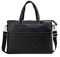 Сумка для ноутбука мужская в черном цвете Tiding Bag M6970-3A