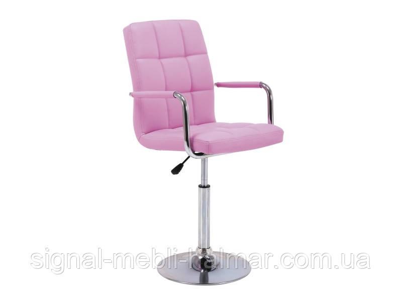 Барный стул C-621 Signal розовый
