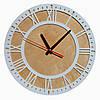 Часы настенные белые Rome, фото 2
