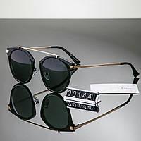 Женские очки брендовые Polaroid копия Диор черные, фото 1