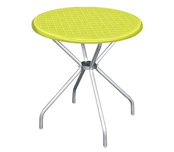 """Круглый стол с алюмин. ножками """"Beta"""" 80 см"""