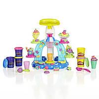 Набор Play Doh Sweet Shoppe Swirl and Scoop Ice Cream Playset.