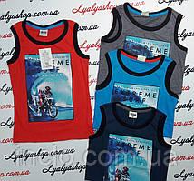 Майка для мальчика  р. 134-164 см, купить детские майки, футболки оптом