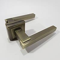 Ручка межкомнатная MONGOOSE H-897 MAB (матовая бронза), фото 1