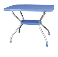 "Стол с алюмин. ножками  ""Vega"" 70х100 см, фото 1"