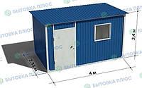 Блок-контейнер (бытовка) 4х2,4х2,4 Премиум