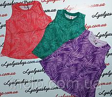 Майка для девочки  р. 116-146 см GLO-STORY  купить детские майки, футболки оптом