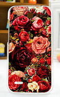 Силиконовый бампер чехол для Huawei Ascend G730