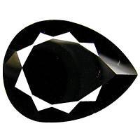 16.26 КТ. Природный черный турмалин Мозамбик