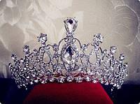 Диадема Арвен тиара для волос корона свадебная