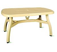 Пластиковый стол 90*150 см