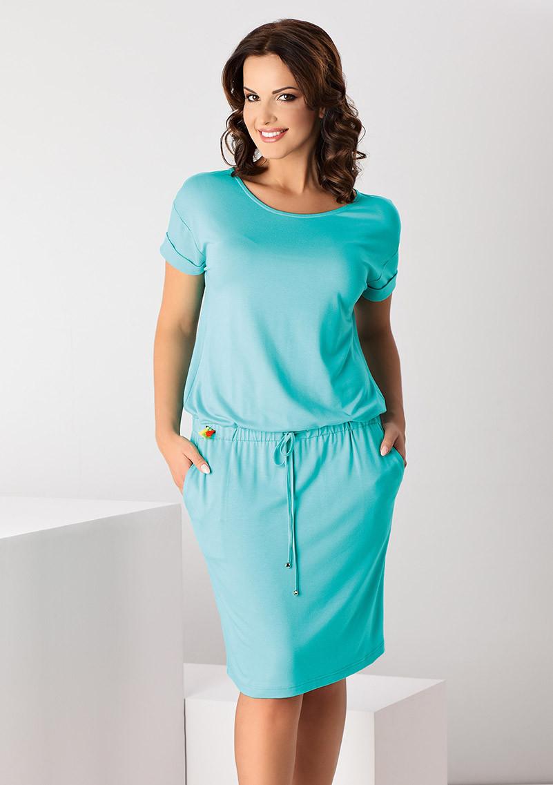 ebd8500cd42 Купить Женское летнее платье мятного цвета. Модель Ofelia Top-Bis ...