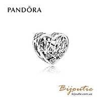 Pandora Шарм МАМА И СЫН #792109CZ серебро 925 Пандора оригинал