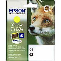 Epson T1284 Картридж Yellow (Желтый) (C13T12844011)