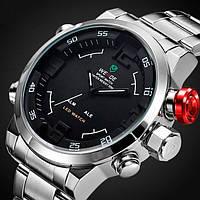 Мужские часы Weide Sport Silver WH-2309