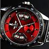 Мужские часы Winner Classic Red, фото 4