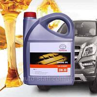 Моторное масло Toyota 5W30 Fuel Economy 5л синтетика оригинальное для TOYOTA 5W-30