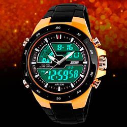 Спортивные часы Skmei 1016  gold