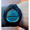 Водонепроницаемые мужские часы Skmei 1025 черные, фото 4