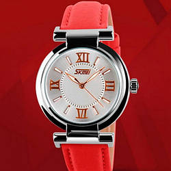 Женские часы Skmei Elegant Red