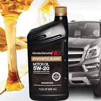 Моторное масло Honda 5W20 Synthetic Blend 1л синтетика оригинальное моторное масло для HONDA