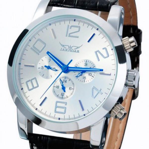 Мужские часы Jaragar Boss White