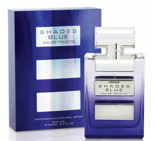 Мужская парфюмерная вода Shades Blue 100ml.  Armaf (Sterling Parfum)