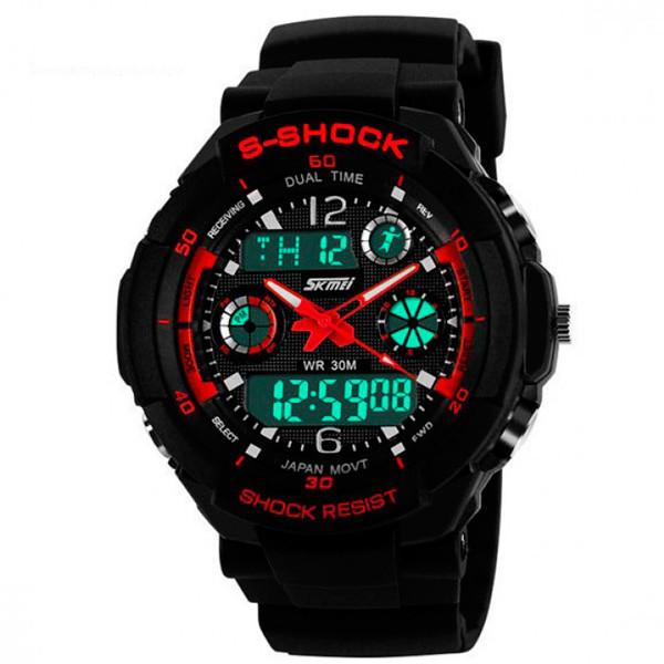 Мужские спортивные часы Skmei S-Shock 0931 Red