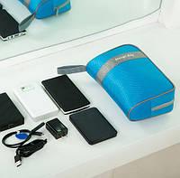 Органайзер-косметичка Storge bag. Голубой цвет