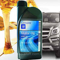 Моторное масло GM/OPEL 10W40 Semi Synthetic 1л полусинтетика Genuine оригинальное для Opel Chevrolet Daewoo