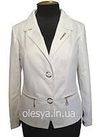 Женский пиджак летний Мария большие размеры 48-58