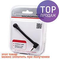 Мини микрофон для ноутбука 3,5мм Gembird MIC-204 / Аксессуары для компьютеров