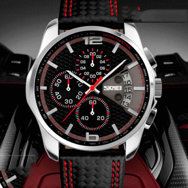 Мужские часы Skmei 9106 Spider red