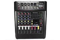 Аудио Микшер Mixer BT 5200 D Микшерный Пульт 5 Каналов 5ch