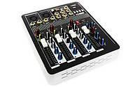 Аудио Микшер Mixer BT 4000 Микшерный Пульт 4 Канала 4ch