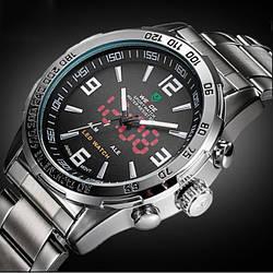 Мужские часы Weide Standart Silver 1009