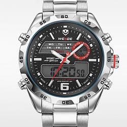 Мужские часы Weide Respect Silver