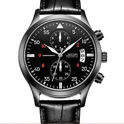 Мужские часы Jedir Factor Black