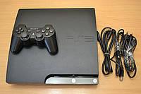 Sony PlayStation 3 Slim 320Gb прошитая с гарантией + игры PS3