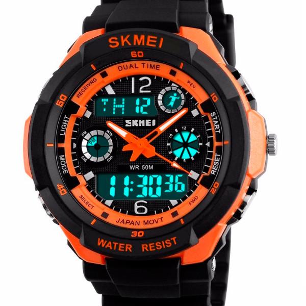 Мужские часы Skmei 0931 S-Shock Orange