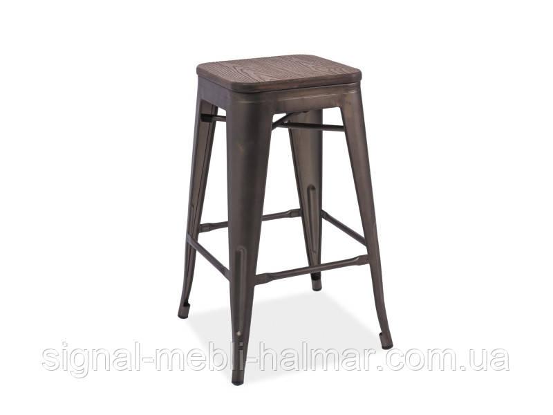 Барный стул Long графит (Signal)
