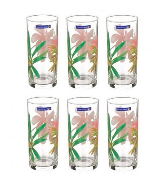 Набор стаканов Luminarc Aime Freesia 270 мл 6 шт. высокие