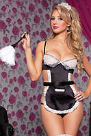 Игровой костюм «Домработница» / Эротическое белье / Сексуальное белье / Еротична сексуальна білизна, фото 1